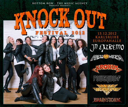 Lady's Voice beim Knock Out Festival in Europahalle Karlsruhe