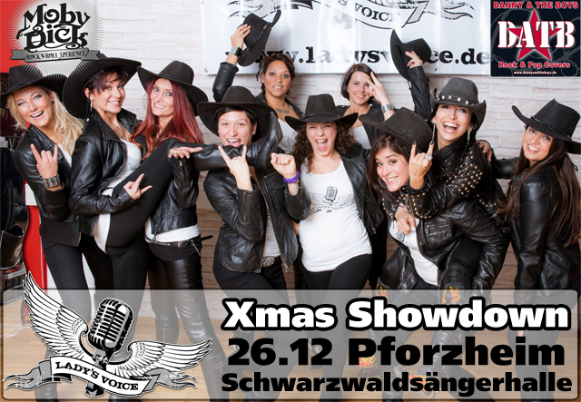 Lady's Voice beim Pforzheimer XMas Showdown