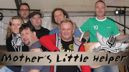 Mother's Little Helper unterst�tzen die Lady's Voice Spendenaktion